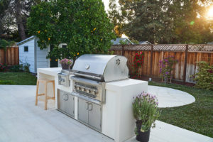 We build BBQ islands like this one in the Bay Area