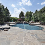 Pool deck paver