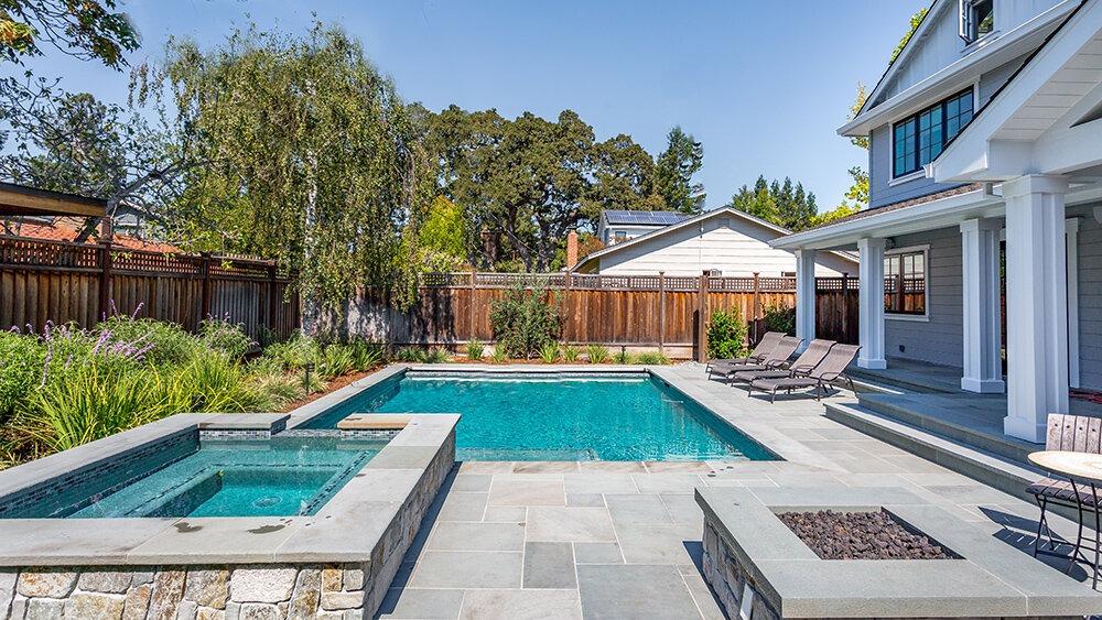 paver pool patio