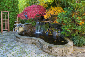 waterfall landscaping contractor