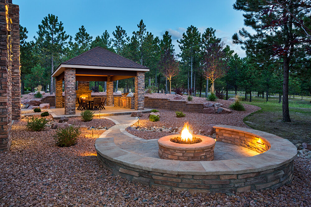 outdoor fire pit contractor bay area