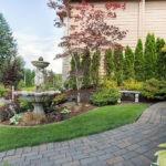 paver walkway and driveway