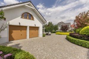 cobblestone driveway paver